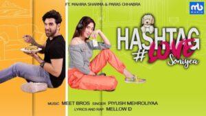 Hashtag Love Soniye Lyrics - Meet Bros | Piyush Mehroliyaa