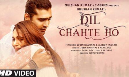 Jubin Nautiyal & Payal Dev - Dil Chahte Ho Lyrics