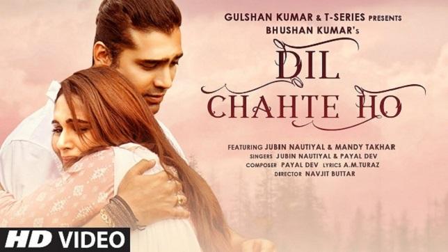 Jubin Nautiyal & Payal Dev – Dil Chahte Ho Lyrics