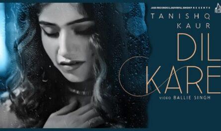 Tanishq Kaur - Dil Kare Lyrics