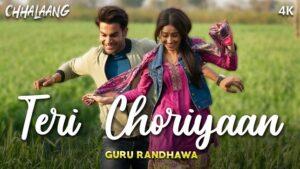 Guru Randhawa - Teri Choriyaan Lyrics