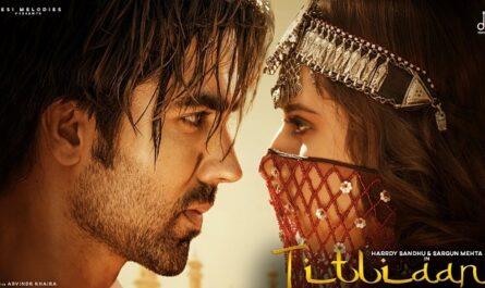 Hardy Sandhu & Afsana Khan - Titliaan Lyrics (Jaani)