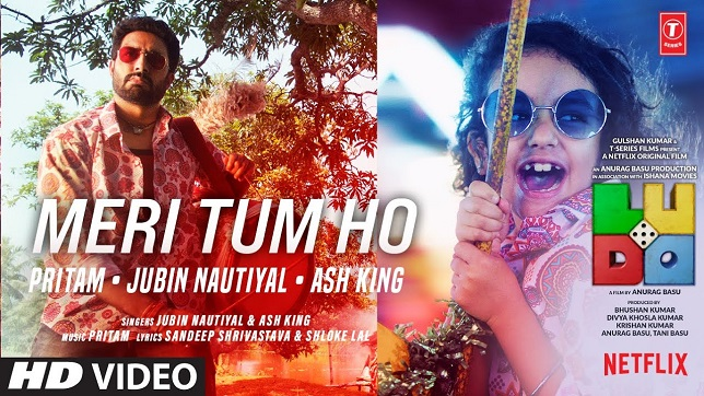 Jubin Nautiyal – Meri Tum Ho Lyrics (Ludo)