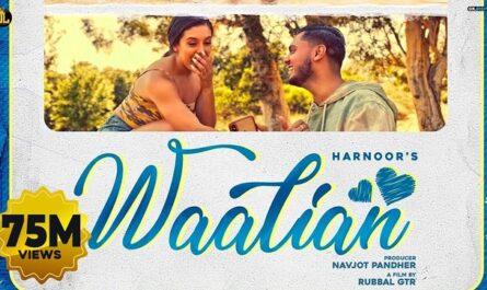 Harnoor - Waaliyan Lyrics