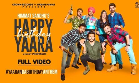 Himmat Sandhu Happy Birthday Yaara Lyrics