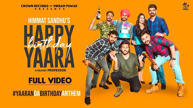 Himmat Sandhu – Happy Birthday Yaara Lyrics