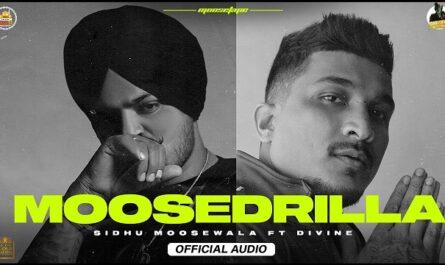 Sidhu Moose Wala & Divine - Moosedrilla Lyrics (From MooseTape)