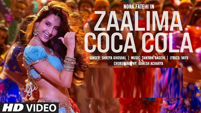 Shreya Ghoshal – Zalima Coca Cola Lyrics (From Bhuj)