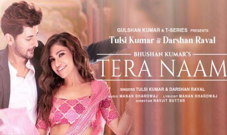 Darshan Raval & Tulsi Kumar Tera Naam Lyrics